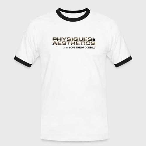 LOVE THE PROCESS CAMUFLAJE - Camiseta contraste hombre
