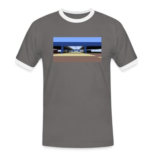 2017 04 05 19 06 09 - T-shirt contrasté Homme