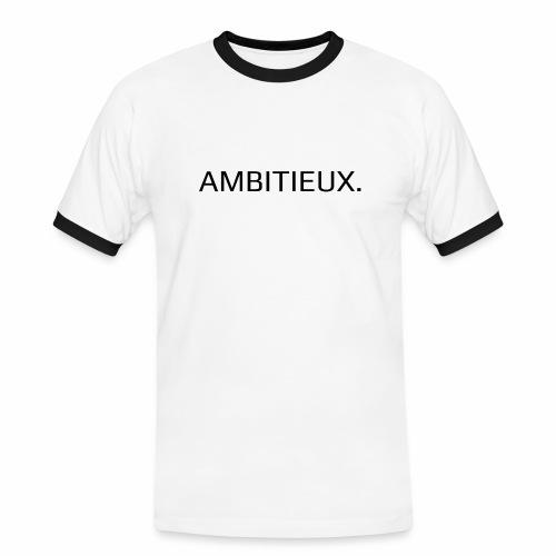Ambitieux - T-shirt contrasté Homme