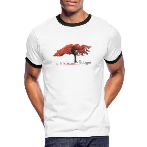Flamboyant - T-shirt contrasté Homme