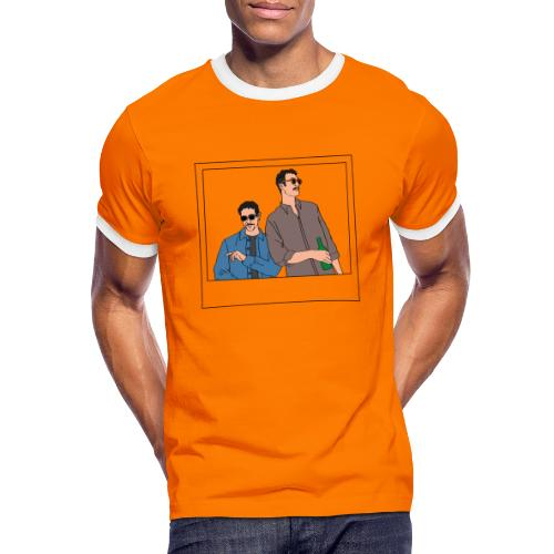 f126 cb - Maglietta Contrast da uomo