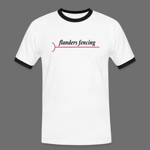 Flanders Fencing - Mannen contrastshirt