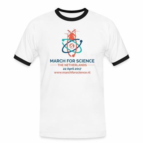 MfS-NL logo light background - Men's Ringer Shirt