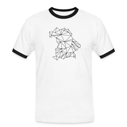 Bayern - Männer Kontrast-T-Shirt