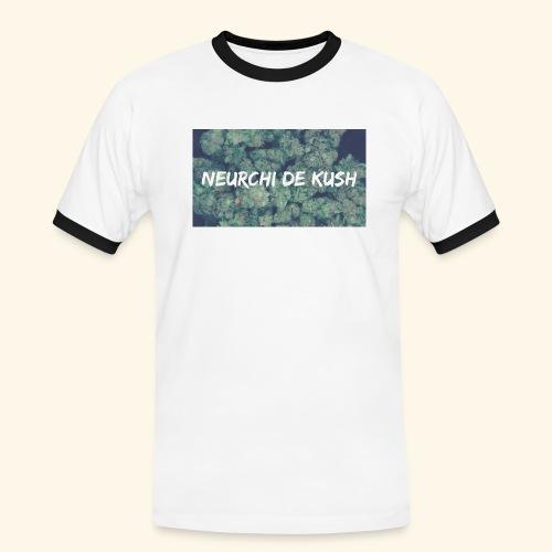 NEURCHI DE KUSH - T-shirt contrasté Homme