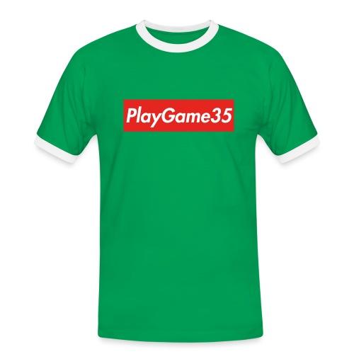 PlayGame35 - Maglietta Contrast da uomo