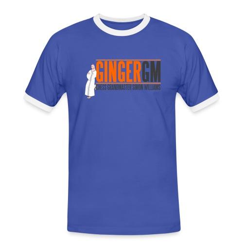 Ginger GM Logo - Men's Ringer Shirt