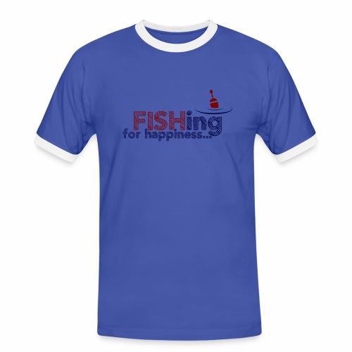 Fishing For Happiness - Men's Ringer Shirt