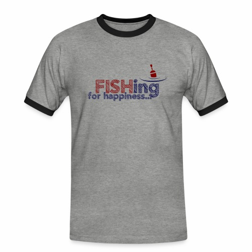 Fishing For Happiness - Men's Ringer Shirt
