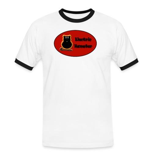 electrichamster - Camiseta contraste hombre