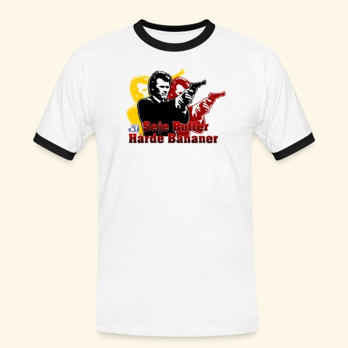 Dirty Harry - Herre kontrast-T-shirt