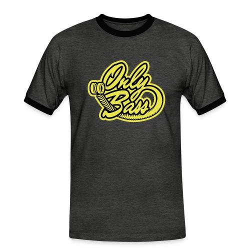 petitlogo6x5 1 couleur - T-shirt contrasté Homme