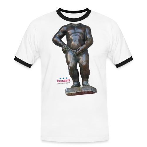 mannekenpis Real Big ♀♂   撒尿小童 - T-shirt contrasté Homme