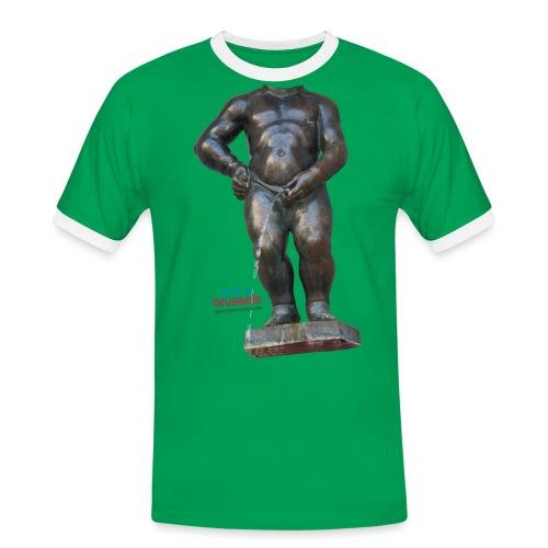 mannekenpis Real Big ♀♂ | 撒尿小童 - T-shirt contrasté Homme