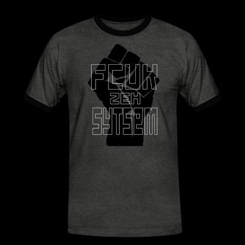 fcuk zeh sytsem - Mannen contrastshirt