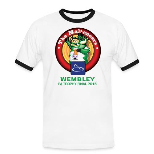 Malteneers Green Text - Men's Ringer Shirt