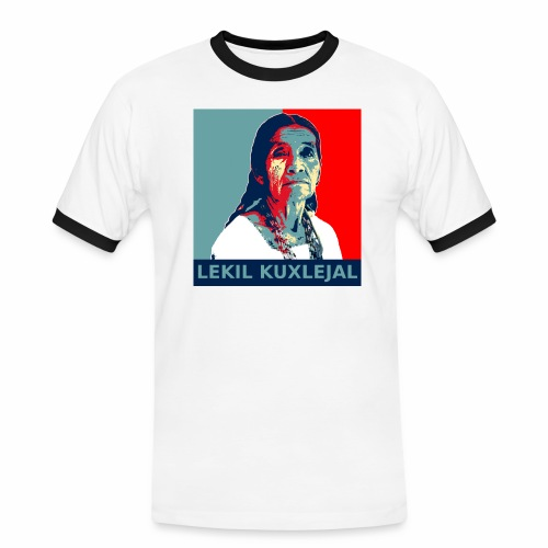 Lekil Kuxlejal - Camiseta contraste hombre