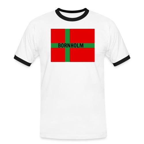 BORNHOLM - Herre kontrast-T-shirt