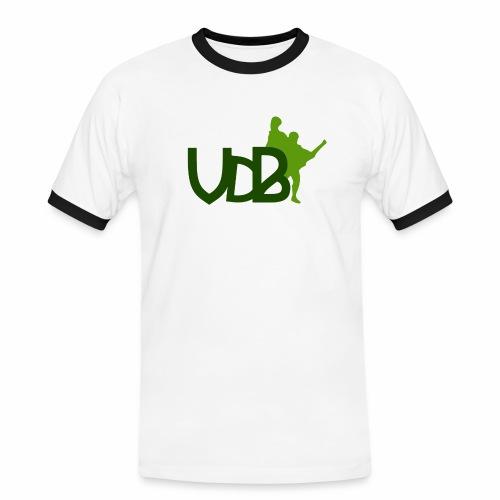 VdB green - Maglietta Contrast da uomo