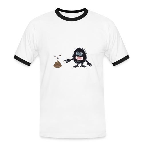 Blorpen t shirt NY gif - Kontrast-T-shirt herr