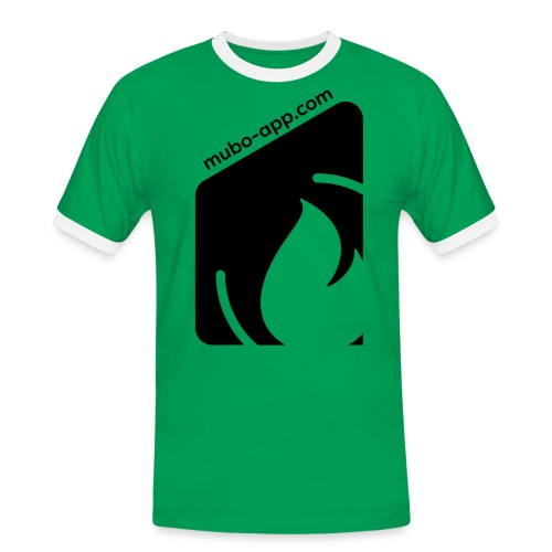 mubo box Black - Men's Ringer Shirt