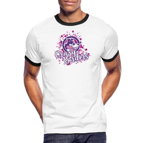 Crazy borders - Men's Ringer Shirt