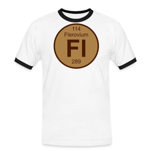 Flerovium (Fl) (element 114) - Men's Ringer Shirt