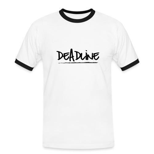 Deadline #2 Festival T Shirt - Männer Kontrast-T-Shirt