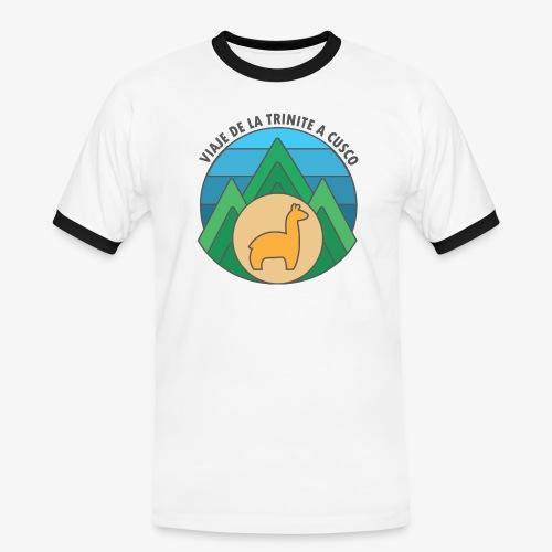 Viaje de la trinité - T-shirt contrasté Homme