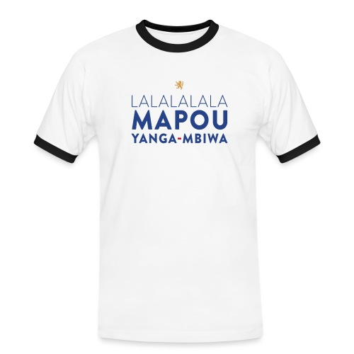 Mapou YANGA-MBIWA - T-shirt contrasté Homme