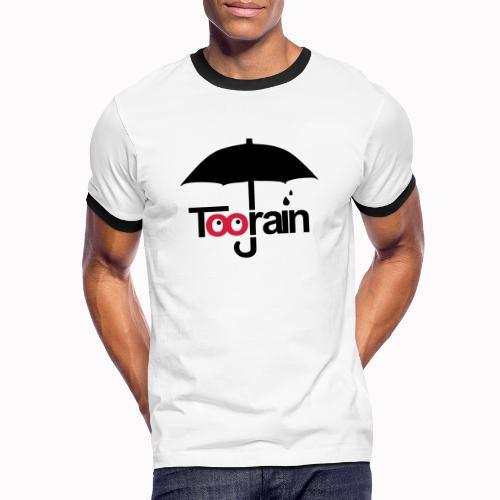 toorain - Maglietta Contrast da uomo