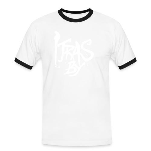itrasbylogo vektor - Kontrast-T-skjorte for menn