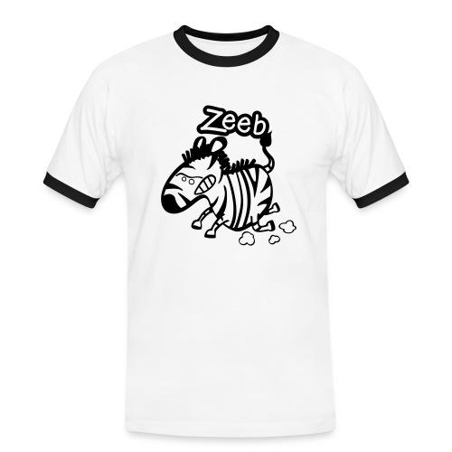zèbre - T-shirt contrasté Homme