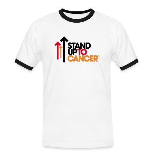 stand up to cancer logo - Men's Ringer Shirt