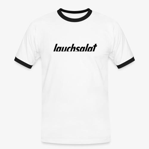 lauchsalat - Männer Kontrast-T-Shirt