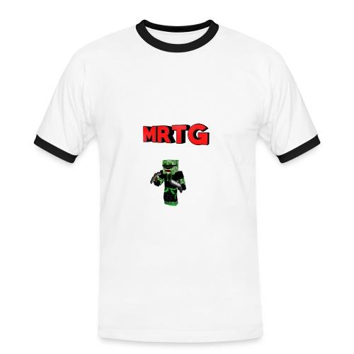 Name35345 png - Männer Kontrast-T-Shirt