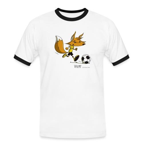 Valmy mascotte - T-shirt contrasté Homme