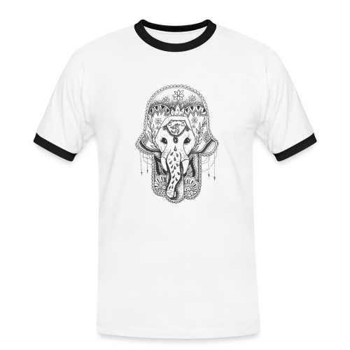 Elephant Magic - Camiseta contraste hombre