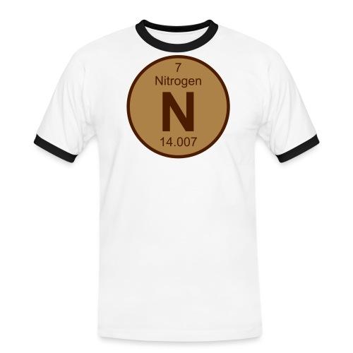 Nitrogen (N) (element 7) - Men's Ringer Shirt