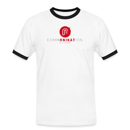 logorgb - Männer Kontrast-T-Shirt