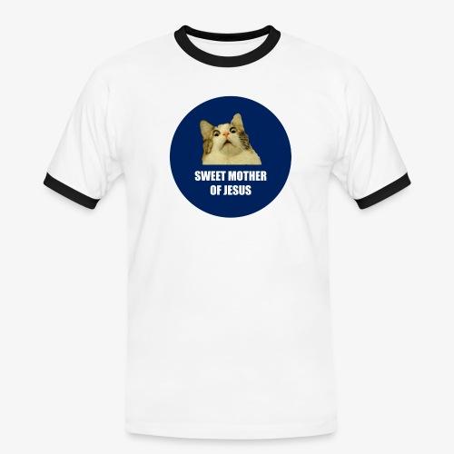 SWEETMOTHEROFJESUS - Men's Ringer Shirt