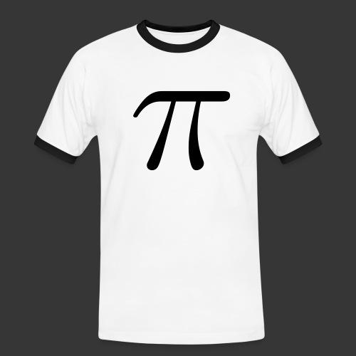 Math constant pi LaTeX - Men's Ringer Shirt