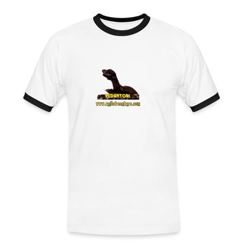 shirt pedantor - Men's Ringer Shirt