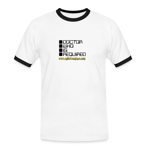 dwisrequired - Men's Ringer Shirt