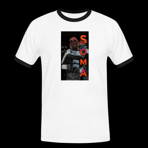 S O M A // Design - Mannen contrastshirt