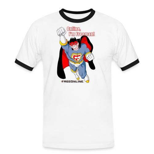 imfreeman120 - Maglietta Contrast da uomo