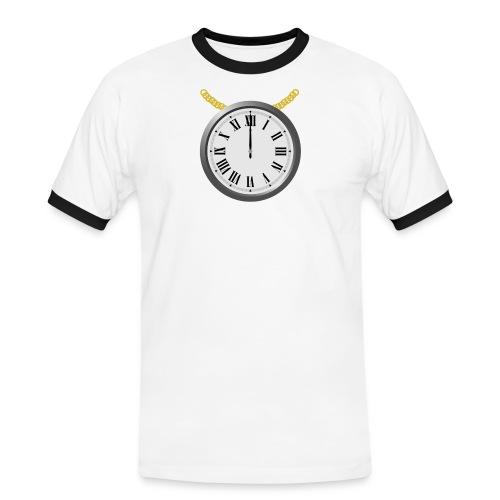 chain_clock - Männer Kontrast-T-Shirt