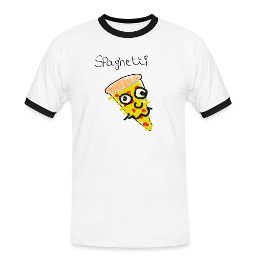 spaghetti - Mannen contrastshirt
