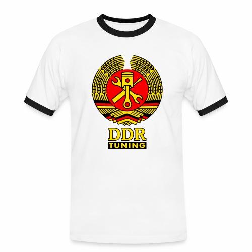 DDR Tuning Coat of Arms 3c - Men's Ringer Shirt