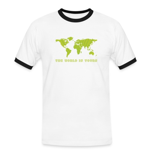 world is yours - Mannen contrastshirt